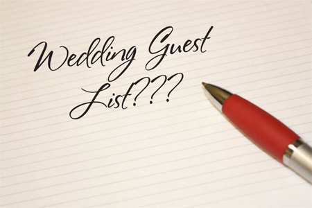 Wedding Guest List